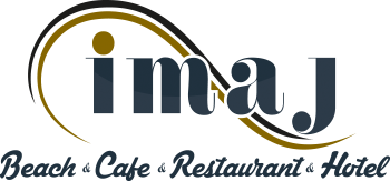 Imaj Beach Hotel Restaurant Cafe Logo